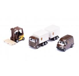 Siku Super UPS Logistics Set