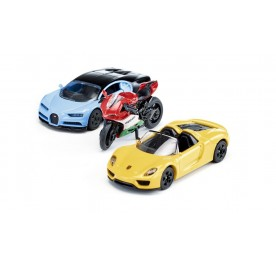 Siku Super Sport Cars and Motorbike