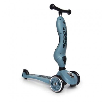 Scoot N Ride Highwaykick1 Scooter for toddler 1-5y - Steel