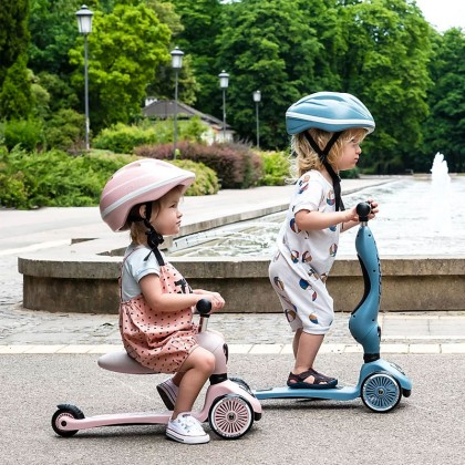 Scoot And Ride Highwaykick1 Scooter for toddler 1-5y - Steel