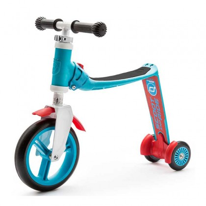 Scoot N Ride Highwaybaby+ 2in1 Scooter for 1-3 years (Blue/Red)