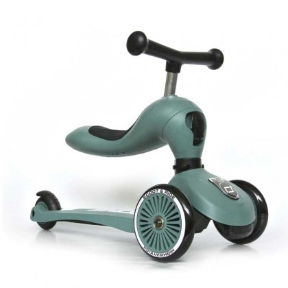 Scoot N Ride Highwaykick1 for toddler 1- 5y - Forest