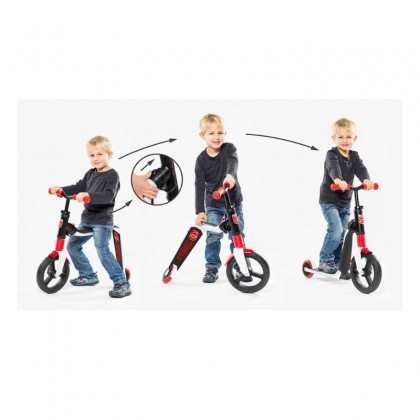Scoot N Ride Highwayfreak 2in1 Scooter for age 3+Red