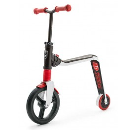 Scoot N Ride Highwayfreak 2in1 Scooter for age 3+  - Red