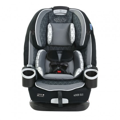Graco 4ever Dlx Upgraded All-in-1 Convertible Car Seat newborn up to 54Kg Drew