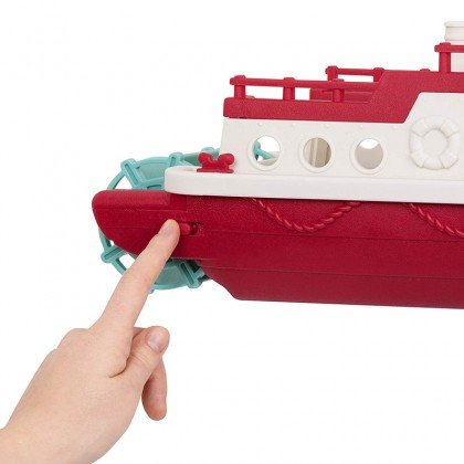 Wonder Wheels 1008 Ferry Boat with Floating Bath Toy Boat with Cars For Toddlers Age 1