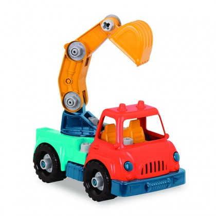 Wonder Wheels 1011 Take-apart Crane Truck for Toddler 1+