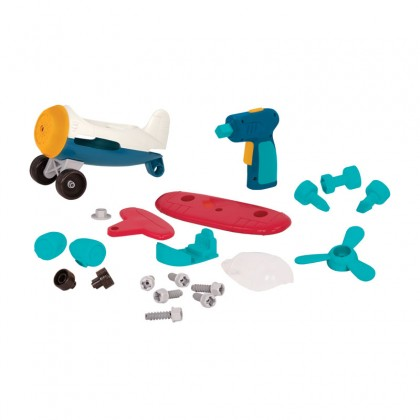 Wonder Wheels 1012 Take-Apart Airplane for age 3+