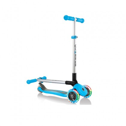 Globber 432101 Primo Foldable Light Scooter for 3+ Sky Blue
