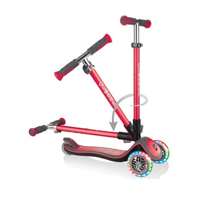Globber 444402 Elite Deluxe Light Scooter for 3+ -New Red