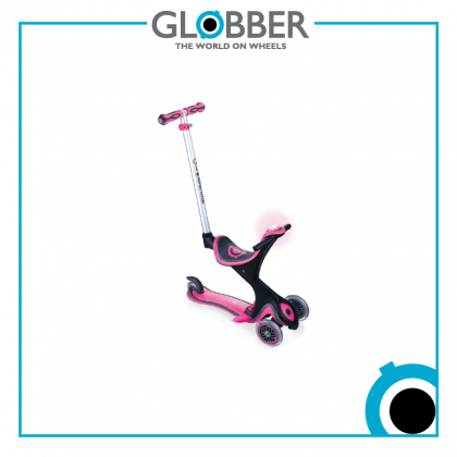 Globber 463110s Evo Comfort Play 3in1 Scooter for 1-5 years- Deep Pink
