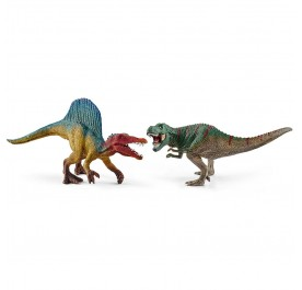 Spinosaurus and T-rex, small