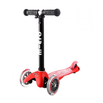 Micro Mini2go MMD018 Deluxe Red Ride-On Scooter for 18month to 5 years