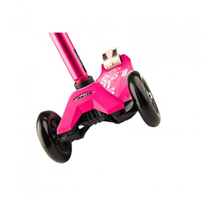Micro Maxi Deluxe 3-Wheeled, Swiss-Designed Micro Scooter for Kids, Ages 5-12 - Pink