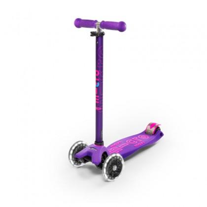 Micro - Maxi Micro Deluxe Scooter ~ Purple LED