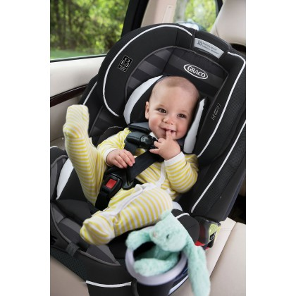GRACO 4Ever All-in-1 Convertible Car Seat, 10 years 1 seat newborn to 54kg