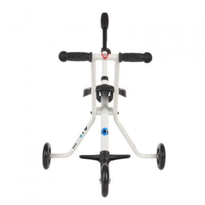 Micro Portable Light weight foldable Trike White