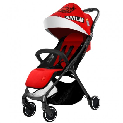 Babysing SGO Cabin Sized Light Weight Stroller China Red