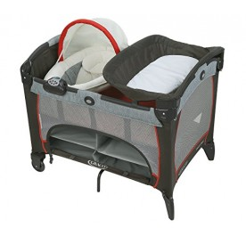 Graco Pack N Play with Newborn Napper Changer LX Solar