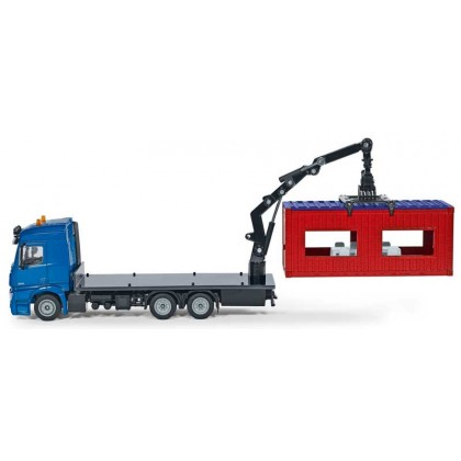 Siku Truck with Contruction Container