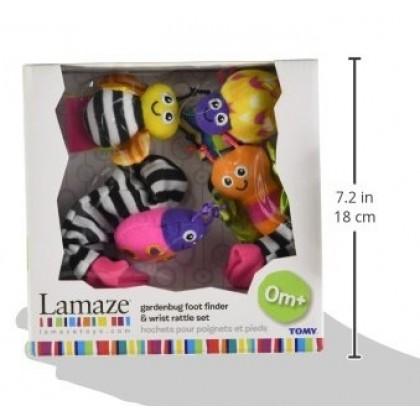 Lamaze 27726 Gardenbug Foot Finder & Wrist Rattles