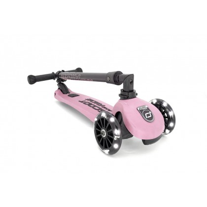 Scoot N Ride Highwaykick 3 LED - Rose