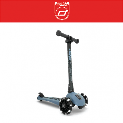 SNR 96347 Highwaykick 3 LED Scooter for 3y - Steel