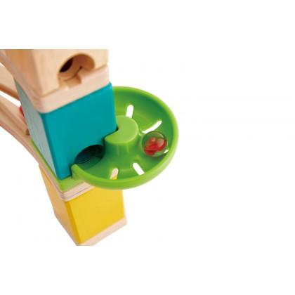 Hape Quadrilla 6020 Cliffhanger Marble Run STEM Toy for Kids age 4+