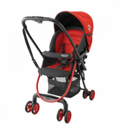 Graco Citilite R Light-weight (4.8kg) Single Stroller with One-hand fold system ~ Red Poppy