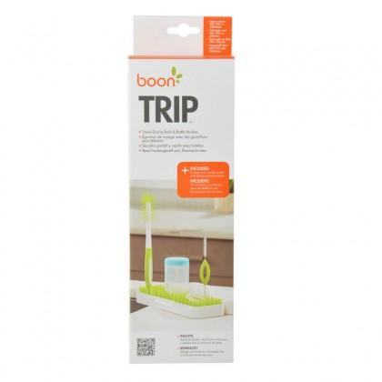 BOON Trip Travel Drying Rack & Bottle Brushes