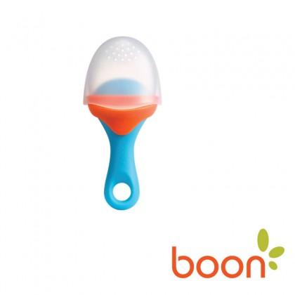 BOON Pulp Silicone Feeder-Blue/Orange
