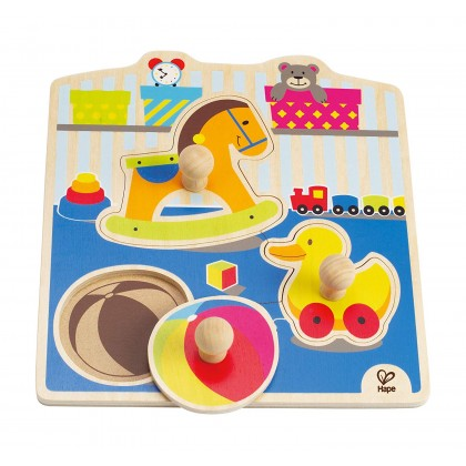 Hape 1301 My Toys Knob Puzzle