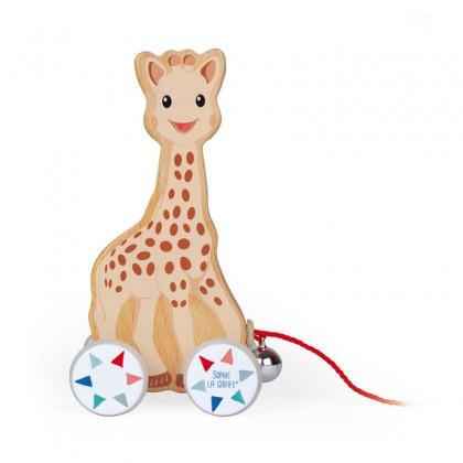 Janod Sophie LA Girafe Pull-Along Toy