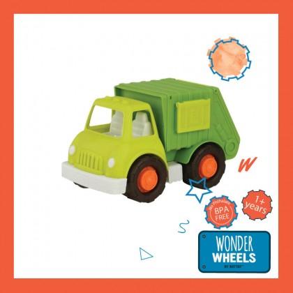 Wonder Wheels 1003 Garbage & Recycling Car for Toddler 1+