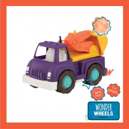 Wonder Wheels 1005 Excavator Truck Play Vehicle for 1+