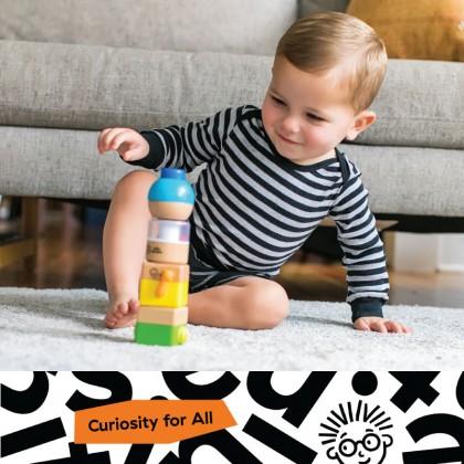 Hape 11886 X Baby EinsteinFour Fundamentals Blocks for baby 3 months+