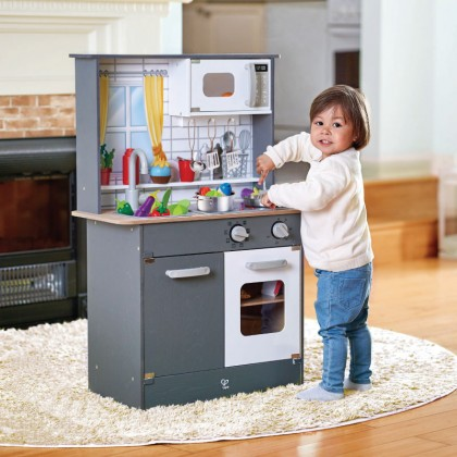 Hape 3166 Kitchen with Lights & Sounds