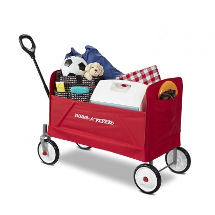 Radio Flyer 3956A EZ Fold Wagon for Kids and Cargo