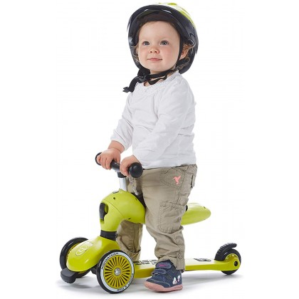 Scoot and Ride Highwaykick1  for toddler 1 - 5 years Lime
