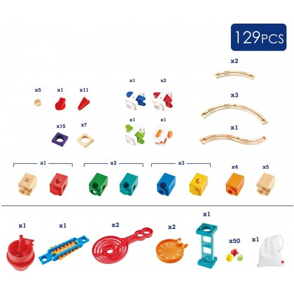 Hape 6024 Quadrilla STEM Toys Super Spirals for Kids 4 years +