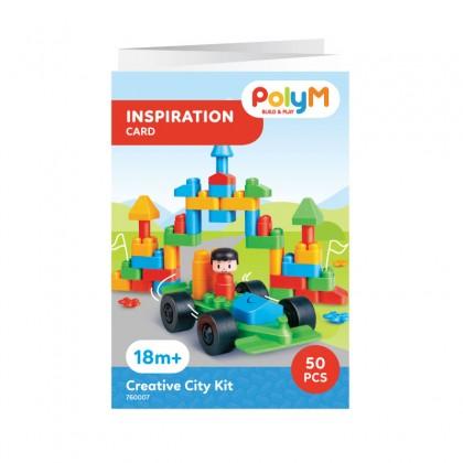PolyM 760007 Creative City Building Blocks