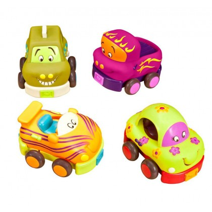 B. Toys 1048 Wheeee-ls, Soft Cars