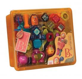 B. toys Bristle Block Spinaroos