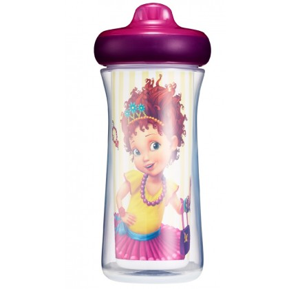 The First Years Fancy Nancy Insulated Hard Spout Insulated Cup 9oz 266 ml -2pc