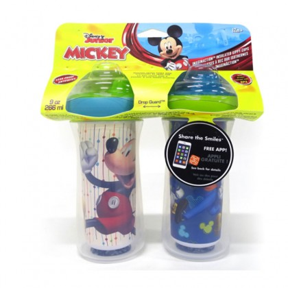 The First Years Mickey Insulated Hard Spout 9oz - 2pc