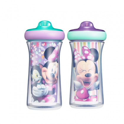 The First Year Minnie Hard Spout 90z Insulated SIppy Cup - 2pc