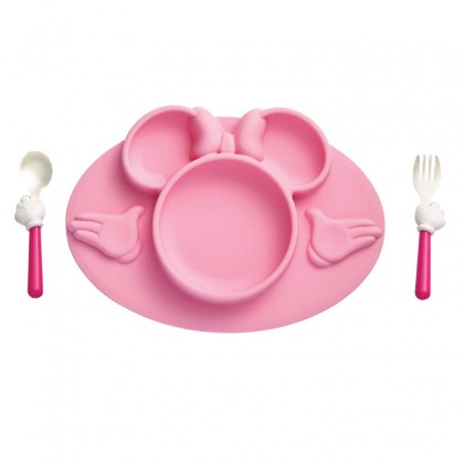The First Years 11303 Minnie Mouse 3pc Mealtime Set