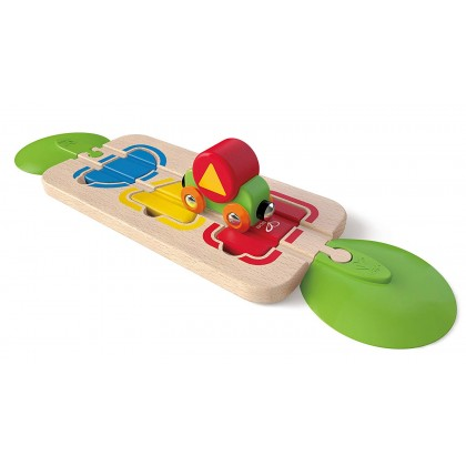 Hape 3810 Color and Shape Sorting (CLEARANCE ITEM)