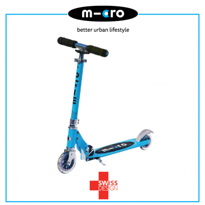 Micro Sprite 2 Wheeled Scooter for Teen age 5 years + ~ Oasis Blue