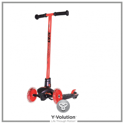 Yvolution Neon Glider Air by Vybe Scooter for kids age 5 years + Red